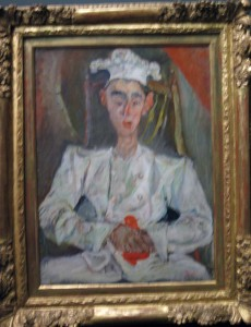 Le Petit Patissier by Chaim Soutine