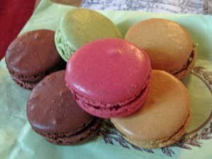 Macarons from Lauderee