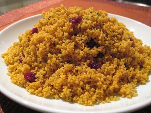Indian Spice Whole Wheat Couscous