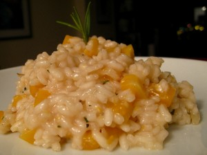 Butternut Squash & Caramelized Onion Risotto