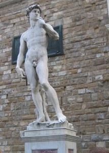 Replica of the David