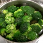 Blanch broccoli