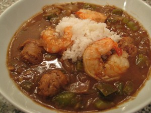 ... Mardi Gras with Shrimp & Andouille Sausage Gumbo | Foodie Reflections
