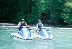 Jet Skiing in Manuel Antonio