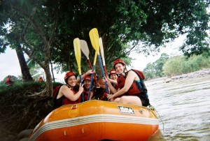 White Water Rafting on the Rio Toro