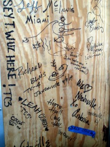 Top Chef signature wall