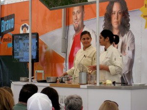 Antonia & Radhika's cooking demo