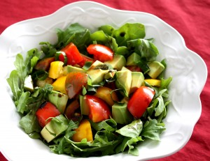 Heirloom Tomato & Avocado Salad