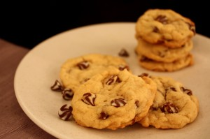 Through My Lens: Swirled Chocolate Chip Cookies