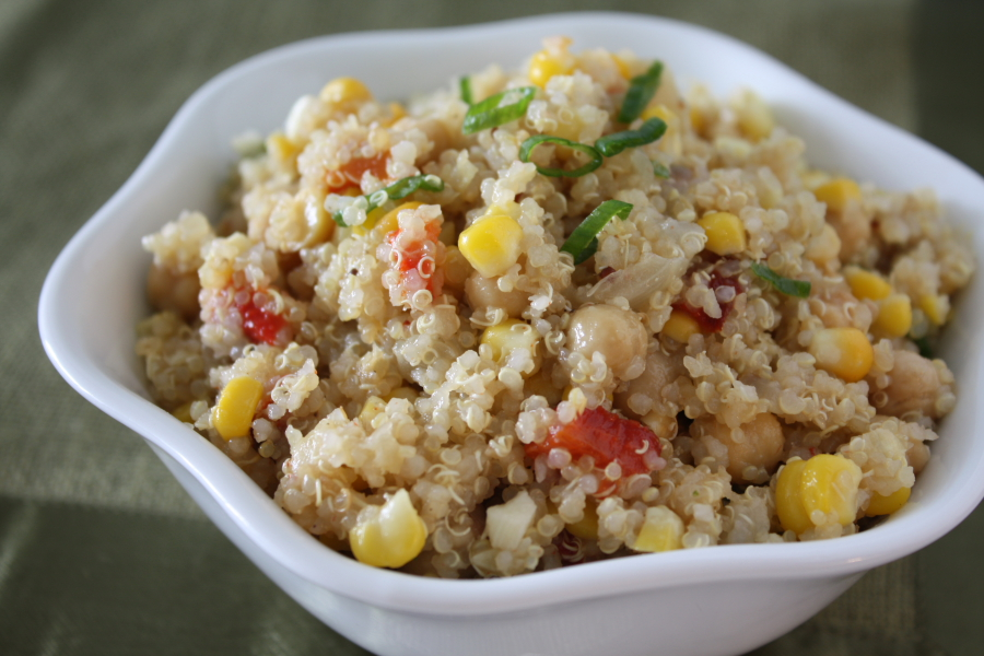 Chickpea Quinoa Salad1 | Foodie Reflections