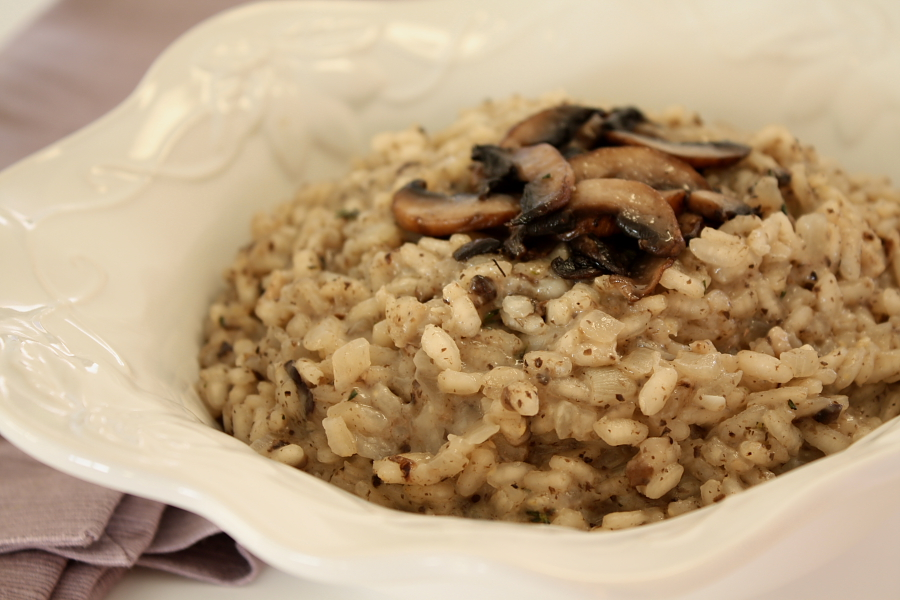 Mushroom Risotto l | Foodie Reflections