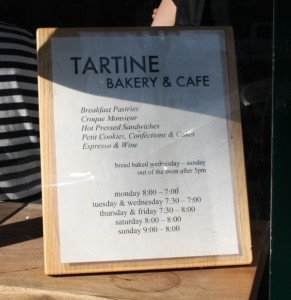 Tartine SF00014