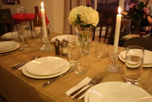 Rosh Hashana - beautiful table