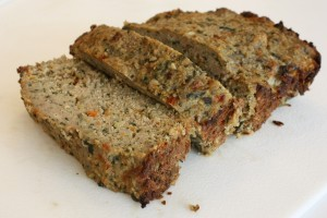 Swiss Chard & Roasted Red Pepper Turkey Meatloaf