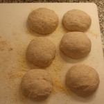 European Peasant Bread before rise
