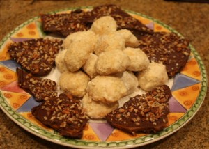 English Toffee and Tornado Cookies