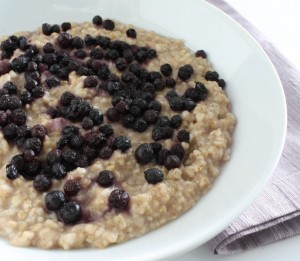 Maple-Cinnamon Steel Cut Oatmeal