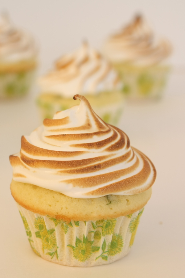 Key Lime Cupcakes with Toasted Meringue | Foodie Reflections