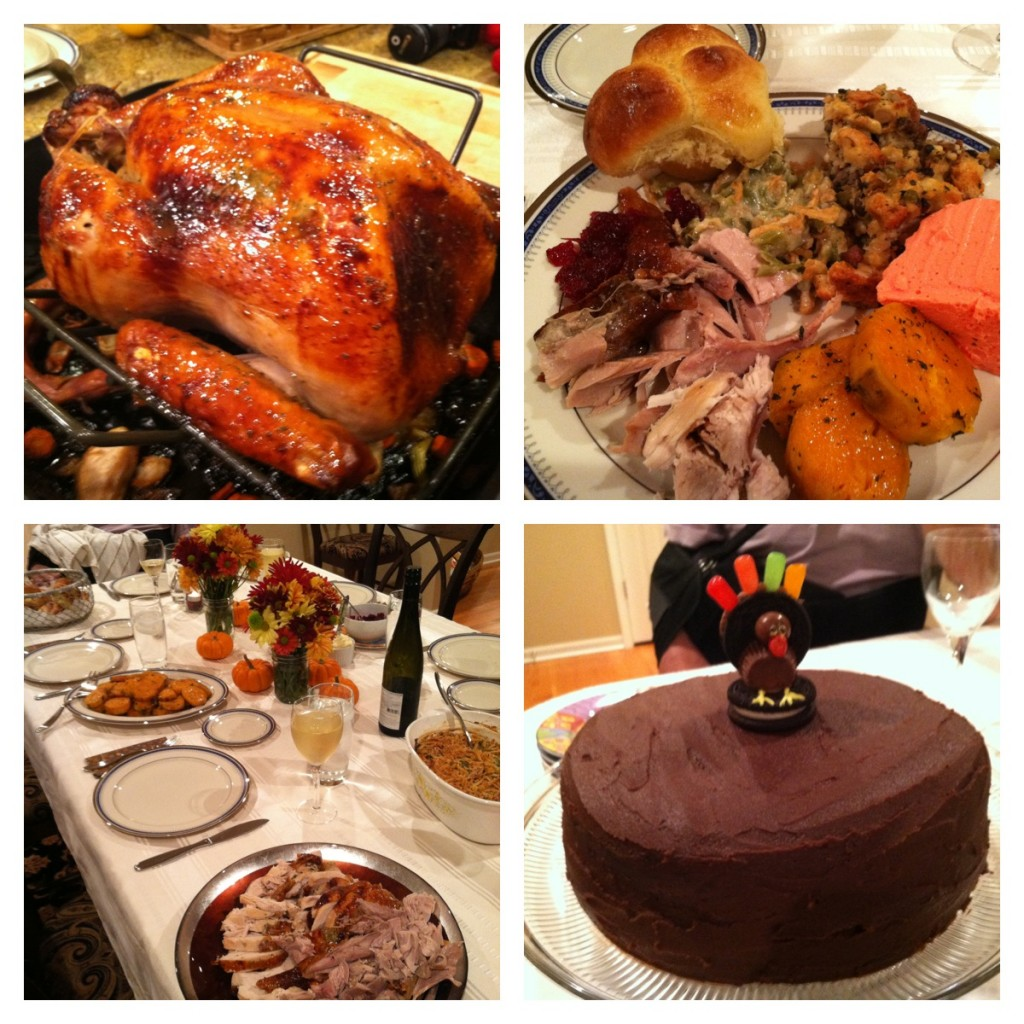 Thanksgiving 2012 Collage